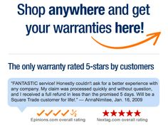 SquareTrade warranties are the best extended warranty.  Reasonable prices and good service.  Check them out!