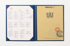 Clam you dig it? Brand Identity for the Salt Line Oyster + Ale
