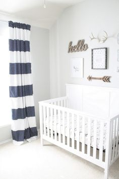 I am so excited to finally reveal Graham's nursery. Better late than never! I started out his room with one vision in mind and it ended up...