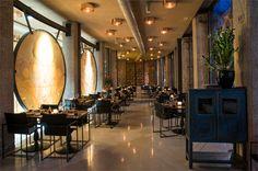 Very elegant fusion restaurant