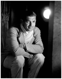 Clark Gable, 1930s, photo by George Hurrell
