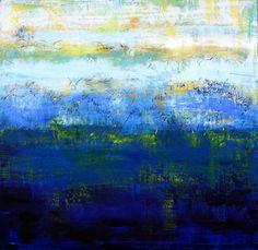 24 x 24 Untitled  coldwax /oil Ctcummins.com