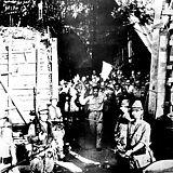 Surrender of American troops at Corregidor, Philippine Islands, May 1942