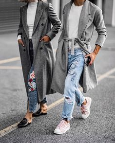 Meanwhile, on a much cooler day with  @bloggers_boyfriend #twinning #brxbb