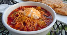 "Gourmet Girl Cooks: Low Carb Chili - ""Chili Willy Chili"" & the Best Low Carb Biscuits EVER!"