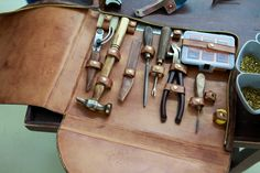 Made in Italy | Leather tool case