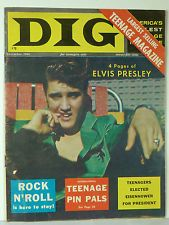 ELVIS PRESLEY- ORIGINAL AND RARE USA MAGAZINE-GREAT IMAGE