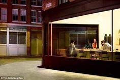 Nachgestelltes Hopper-Gemälde von #Ikea