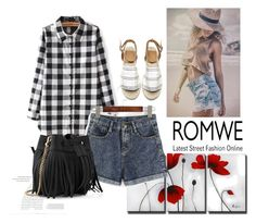 """""""romwe 10"""" by aida-1999 ❤ liked on Polyvore featuring Balenciaga and Whistles"""