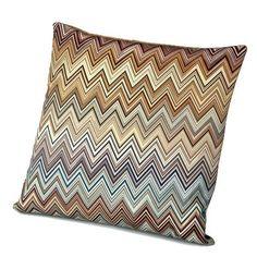 Missoni Home cushion Jarris 148 Modern Throw Pillows, Accent Pillows, Decorative Throw Pillows, Floor Pillows, All Modern Coupon, Zig Zag Pattern, Missoni, Cushions, Beige