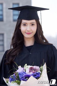 20150224 SNSD Girls Generation Yoona graduate from Dongguk University!Congratulation!