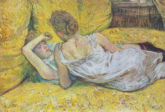 Henri de Toulouse-Lautrec, L'abandon (Les deux amies), 1895