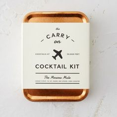 Carry On Cocktail Kit, The Moscow Mule.