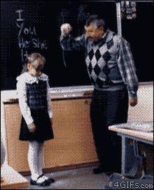 Little girl triumphs over bullying teacher, is my new hero #Fail