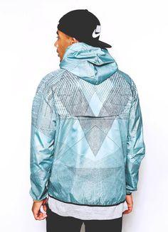 Nike Fast Track Printed Windrunner Jacket