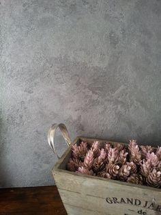 Dekoratif duvar boyası / Decorative wall paint by Dama Konsept - Dama Paint Parlak beton