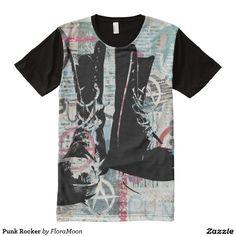 Punk Rocker All-Over Print T-Shirt