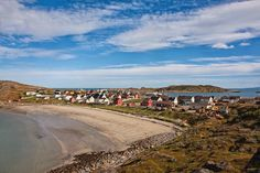 Bugøynes (in Finnish Pykeijä) is a small village in Sør-Varanger municipality in Finnmark county, Northern Norway. If you are coming from Finland, the distance to the village from Neiden (in Finnish Näätämö) is 90 km, and from Nuorgam about 100 km. 100 Km, Finland, Distance, Bucket, Hiking, Country Roads, Beach, Water, Outdoor