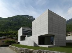 House in Lumino by Davide Macullo Architects