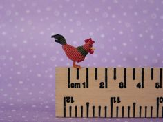 Rooster by MUFFA Miniatures, via Flickr