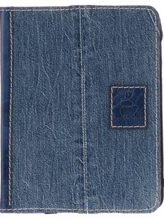 Patch Denim Jeans Ipad Case