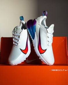 #NikeGolf Air Max 270 Golf NRG 'Oracle Aqua' is now available in unisex sizes 🏌️♀️🏌️♂️🔥. Grab your pair at #eGolfMegastore⛳️ ____ #AirMax #AirMaxNRG #AirMax270 #OracleAqua #nikeairmax #golfshoes #golfkicks #golffootwear #golfinDubai #golfshopDubai #nikeswoosh #golfMiddleEast #golfUAE #NikeGolfClub #eGolf Nike Golf Clubs, Dubai Golf, Golf Shop, Air Max 270, Cleats, Nike Air Max, Kicks, Aqua, Footwear