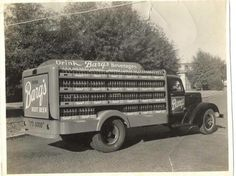Old Barq's Root Beer Truck ------------- a New Orleans soft drink before being sold to Coke
