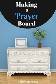 Making a Prayer Board