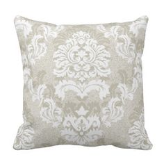 Damask Pattern Light Grey