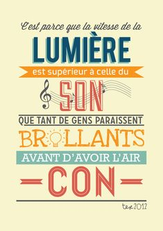 french quote Art Print