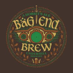 Bag End Brew Middle Earth T-Shirts