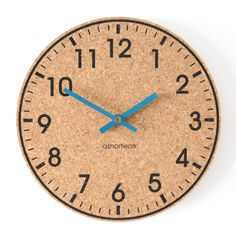 Eco Cork Wall Clock