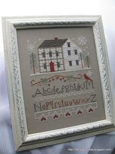 Winter Plaid, Little House Needleworks