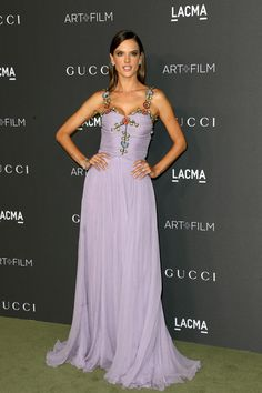 Alessandra Ambrosio Photos Photos - Model Alessandra Ambrosio, wearing Gucci, attends the 2016 LACMA Art + Film Gala honoring Robert Irwin and Kathryn Bigelow presented by Gucci at LACMA on October 29, 2016 in Los Angeles, California. - 2016 LACMA Art + Film Gala Honoring Robert Irwin And Kathryn Bigelow Presented By Gucci  - Arrivals