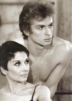 Zizi Jeanmarie and Nureyev.