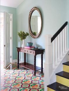 Give any room in your home an instant style update by adding patterned, colorful tile to walls, floors, or ceilings. Check out our tile decorating ideas to find the right tile, color, and style for your home and space.
