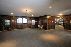Weatherstone Farm - Stables, Entrance - The Premier Equestrian Estate for Sale in Hunt Country - Bedminster, NJ