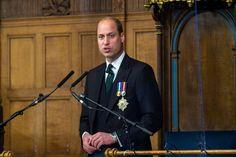 Prinz William: Prinz William spricht am 22. Mai 2021 in Edinburgh. Prinz Philip, Prinz Charles, Prinz William, Princess Diana Death, Princess Charlotte, Princess Kate, Edinburgh, Martin Bashir, Prime Minister Of England