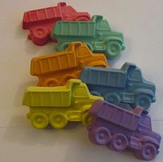 dump truck chalk