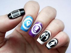 10 Kapow: Inspired by Loot Crate- Superfight nails