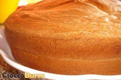 Pan di Spagna (ricetta classica) ~ CioccoBurro