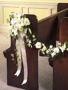 decorar iglesia para quinceanera | Centros de mesa para boda: Guirnaldas para decorara bodas