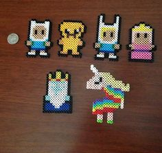 Adventure Time Inspired 8 Bit Magnet Set
