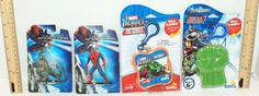 4 LOT MARVEL COMICS HEROES HULK TOY CARD GAME CASE CLIP SPIDER-MAN LIZARD FIGURE #Marvel