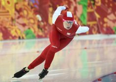 DAY 10:  Katarzyna Bachleda-Curus of Poland competes during Speed Skating Women's 1500m http://sports.yahoo.com/olympics
