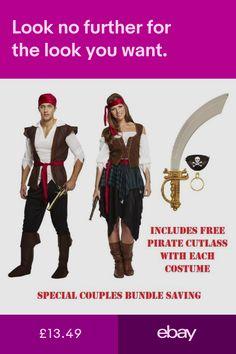 5Pcs Kids PIRATE FANCY DRESS COSTUME SET Hat Hook Earring Eye Patch Cutlass Kit