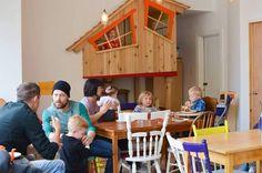 Les meilleurs endroits pour prendre un café ou dîner avec tes enfants à Montréal.