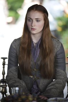 Sansa Stark - Game of Thrones/Asoiaf (played by Sophie Turner)