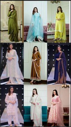 Stylish Dresses For Girls, Stylish Dress Designs, Designs For Dresses, Simple Dresses, Casual Dresses, Nice Dresses, Beautiful Pakistani Dresses, Pakistani Dresses Casual, Pakistani Dress Design