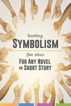 The literary term symbolism - might overwhelm secondary students because the possibilities for analysis are endless. Follow a few of these tricks when teaching symbolism.